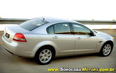 2ddcbfd98b6 A nova geração do Omega CD 2008 começará a ser vendido na segunda quinzena  deste mês de agosto. Seu preço público sugerido é de R  145.000